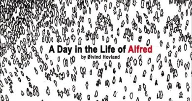 A Day in the Life of Alfred - Cover