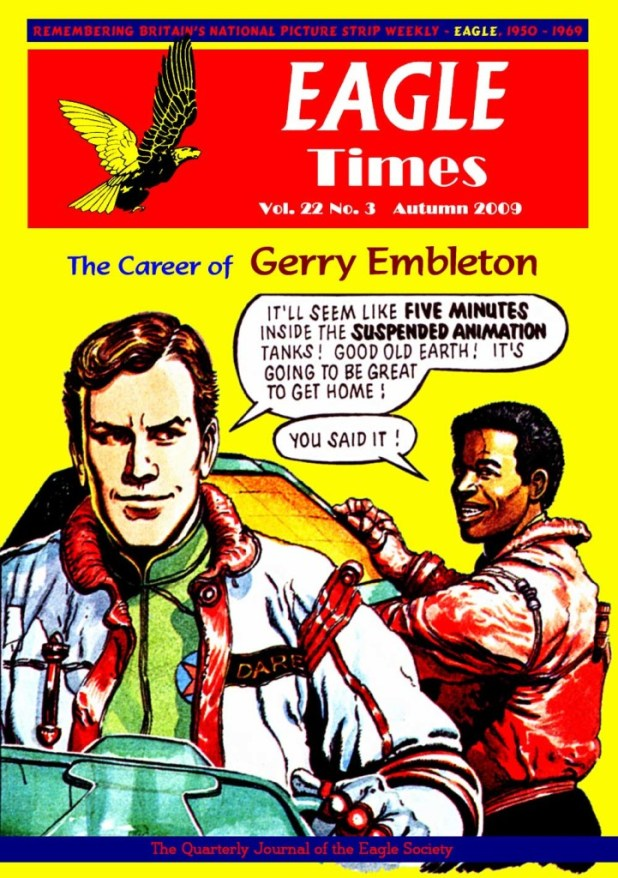 Eagle Times Volume 22 Number Three Cover
