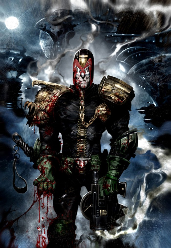 Heavy Metal Dredd by John Hicklenton and Clint Langley