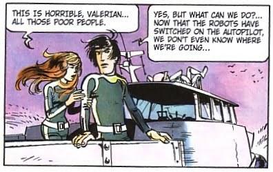 Valerian Volume 1: City of Shifting Waters Sample Panel