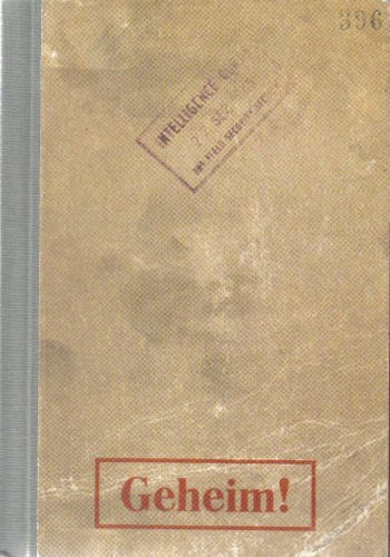 The cover of the Sonderfahndungsliste G.B. - aka The Black Book