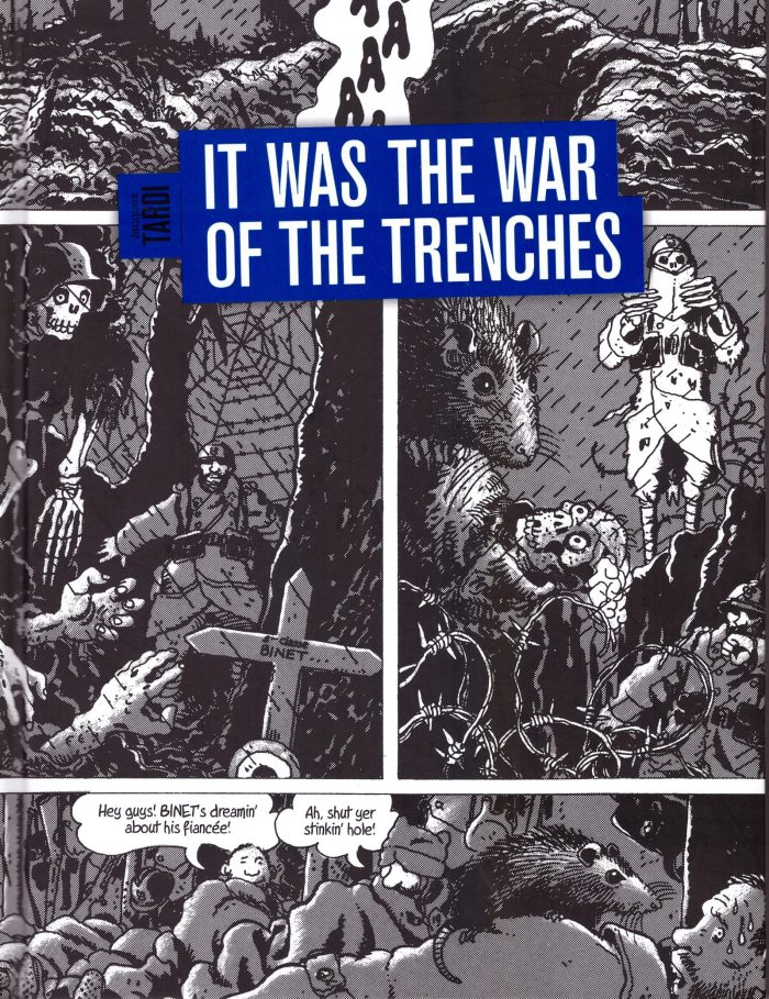 It Was the War of the Trenches - Cover