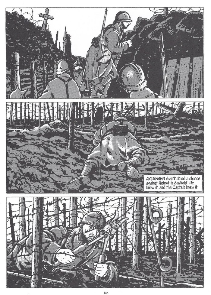 It Was the War of the Trenches - Sample Art