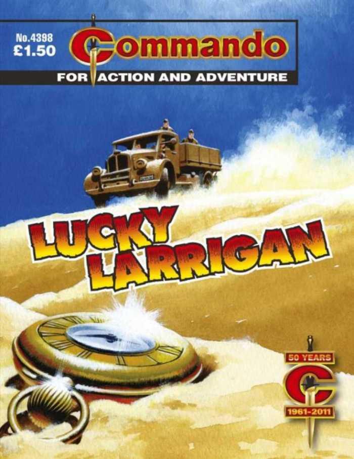 Commando No 4398: Lucky Larrigan