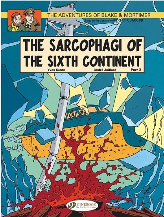 Blake & Mortimer: The Sarcophagi of the Sixth Continent Part 2