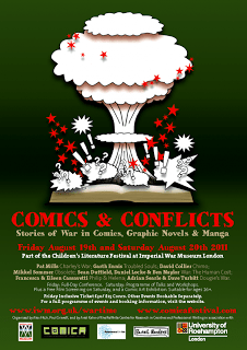 Comics and Conflicts Conference schedule published