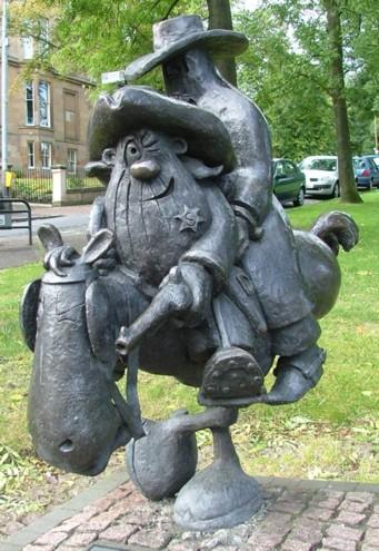 Lobey Dosser Statue