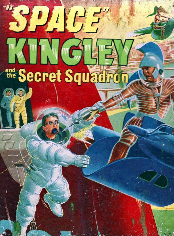 Space Kingley and the Secret-Squadron