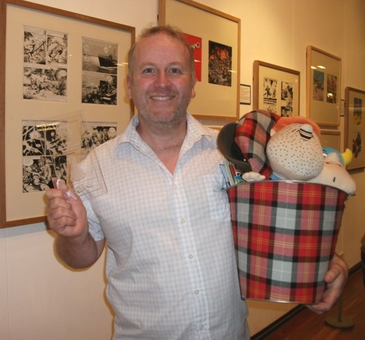 Dundee Comics Day 2011 - Steve-English