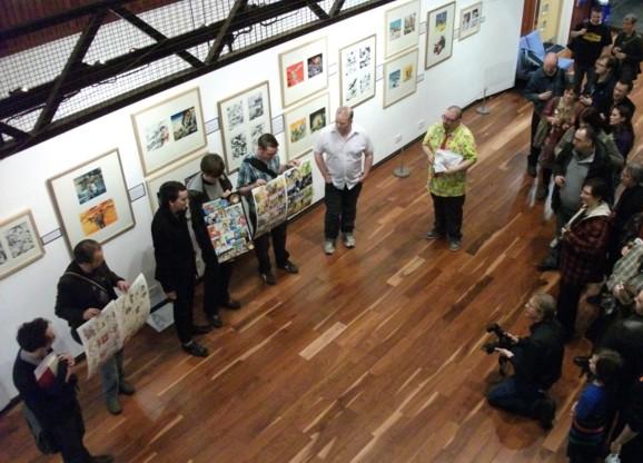 Dundee Comics Day 2011 - Tartan Bucket Awards