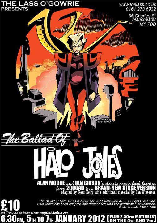 Ballad of Halo Jones Stage Play Poster - 2012