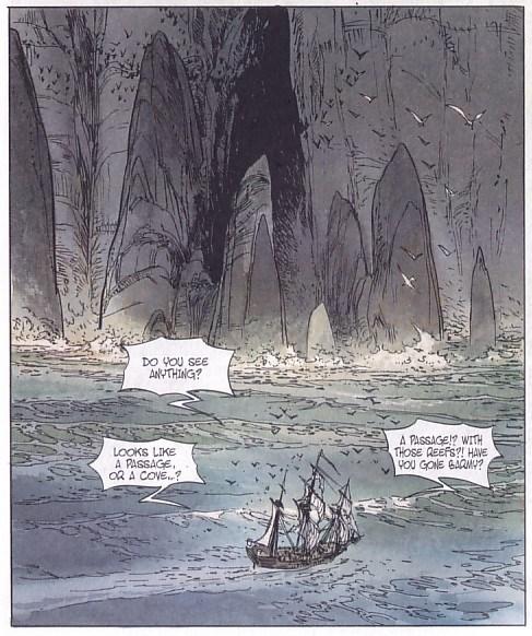 Long John Silver Volume 3 – The Emerald Maze Sample Panel