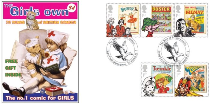 Royal Mail Comic Collection 2012 - Girls Own