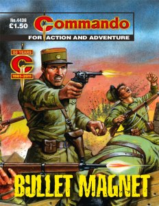 Commando 4436 - cover by Mike White