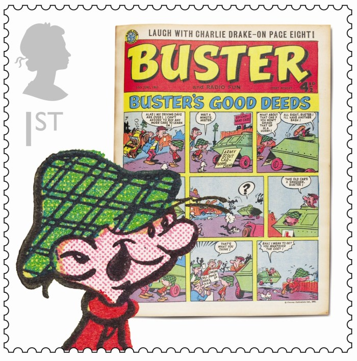 Royal Mail Comic Collection 2012 - Buster