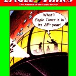 Eagle Times Volume 25 Number One - Cover