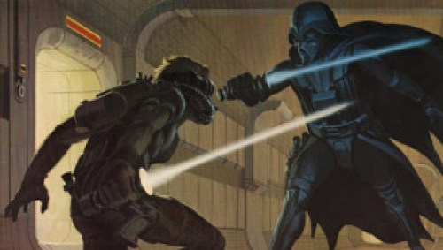 Early Star Wars concept art by Ralph McQuarrie. Copyright Lucasfilm