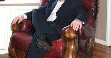 Comic creator and publisher Tim Perkins