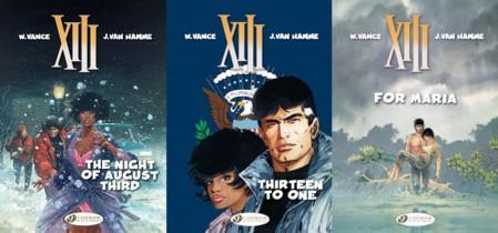 Cinebook's XIII - Volumes 7 - 9