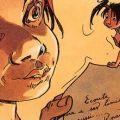 Peter Pan - Sample panel by Regis Loisel
