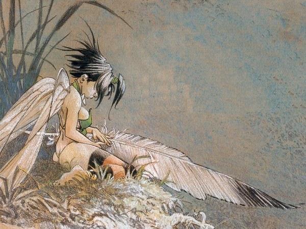 Peter Pan by Regis Loisel - Study