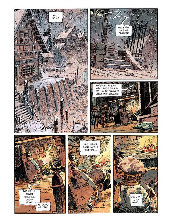 Peter Pan by Regis Loisel Page 1