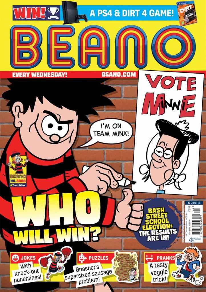 Beano 3888 - Cover