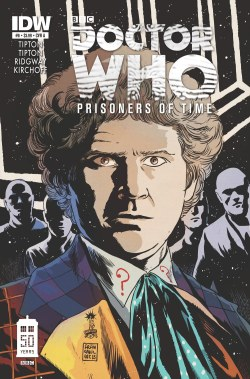 Doctor Who: Prisoners of Time #6 - Cover by Francesco Francavilla