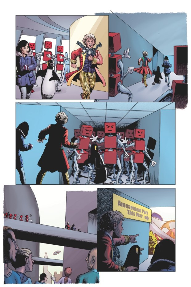 Doctor Who: Prisoners of Time #6 - Facades Page 6