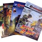 Commando Gatefold Covers