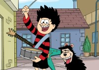 A still from Dennis the Menace and Gnasher, produced by Red Kite Animation for CBBC.