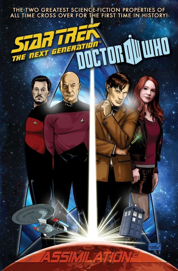 Doctor Who - Star Trek TPB