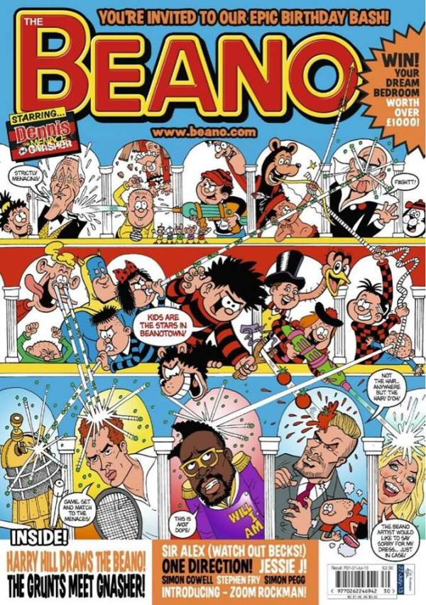 75th Anniversary issue of The Beano