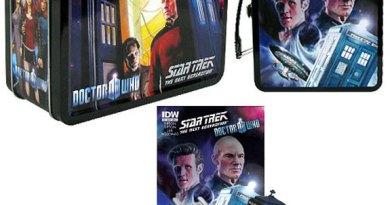 Doctor Who-Star Trek Assimilation 2 merchandise fom BifBangPow!