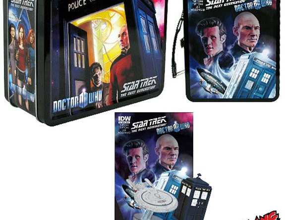 Doctor Who-Star Trek Assimilation 2 merchandise fom BifBangPow!