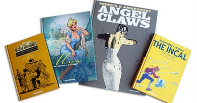 Some of the books published by Humanoids