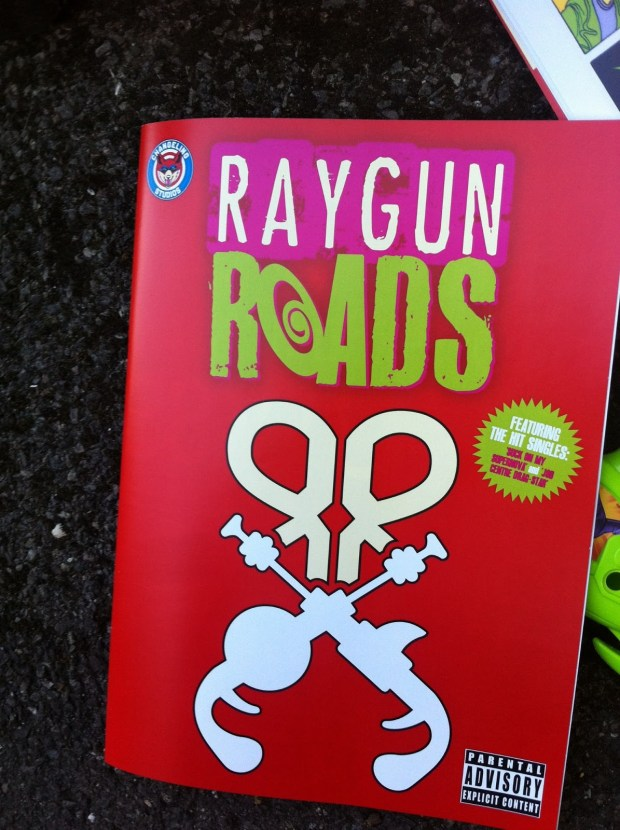 Raygun Roads ashcan cover