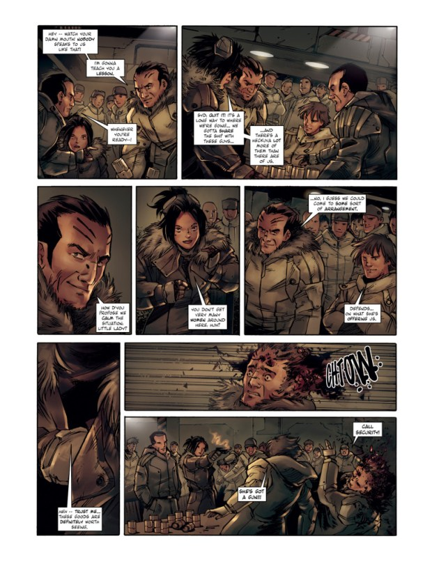 Lost Planet First Colony Page 3