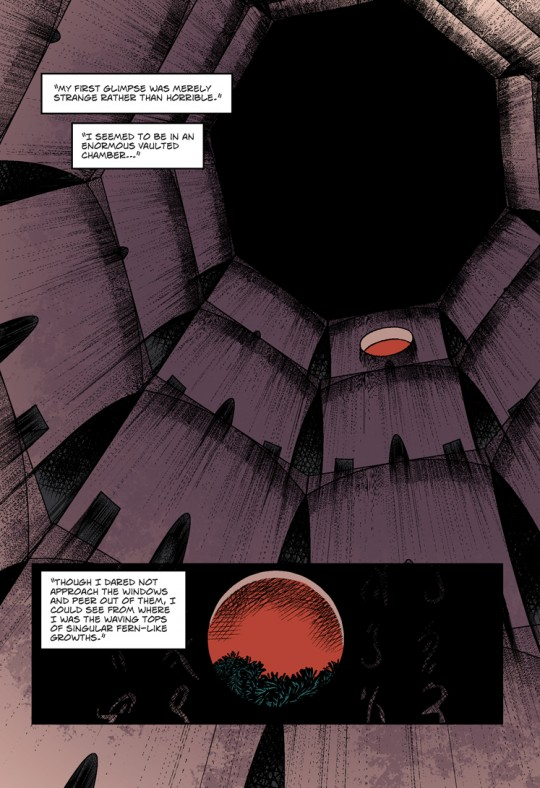 A page from The Shadow out of Time