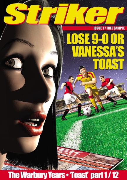 Striker Comic Cover
