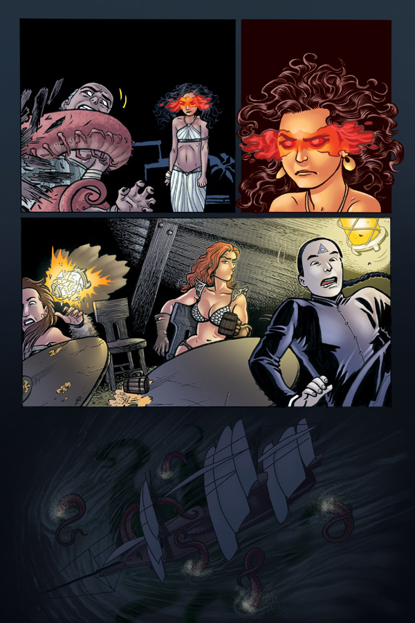 Legends of Red Sonja #1 Sample Page