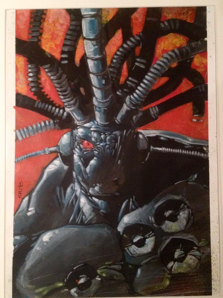 Stuart Jennet's cover for Ripwire #1