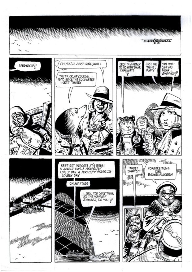Squadron of the Screaming Damned Page 1