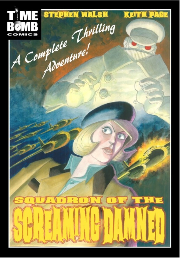 Squadron of the Screaming Damned Cover