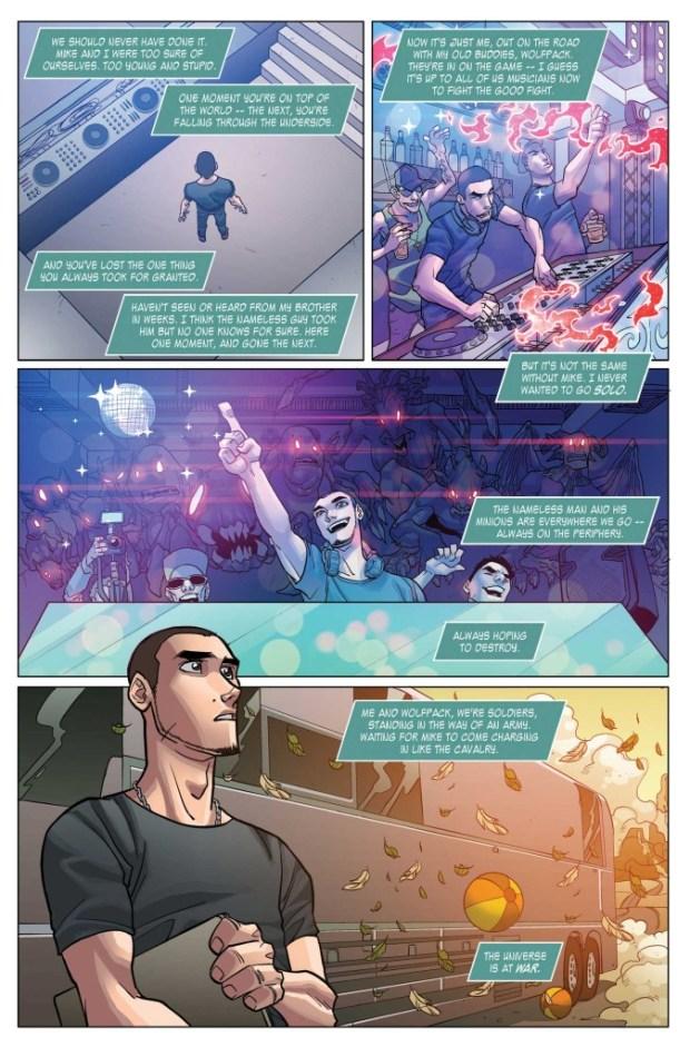 Tomorrowland #3 Sample Page
