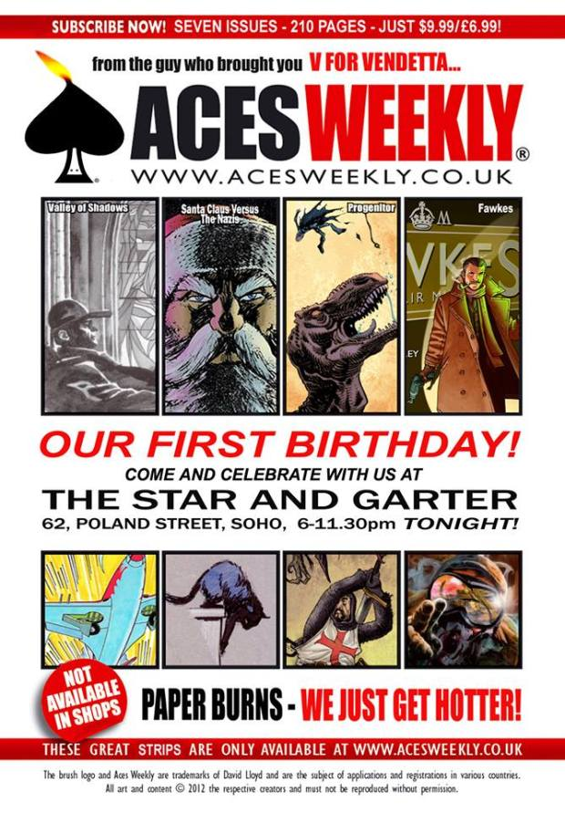 Aces Weekly First Birthday Bash 2013