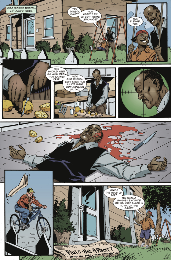 Forgotten Planet Page 1 by Peter Rogers and Ginacarlo Caracuzzo