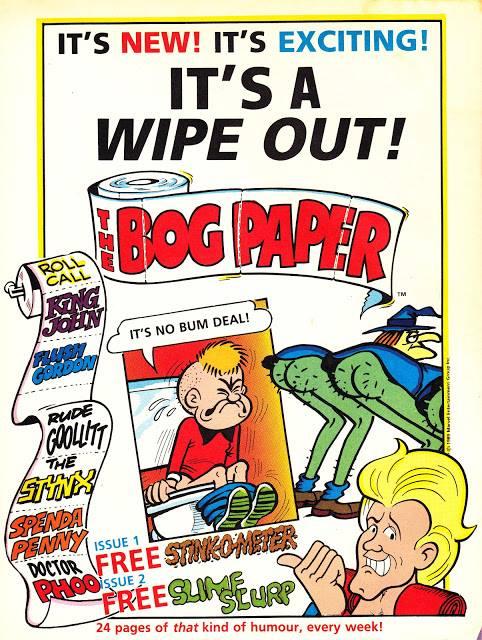 Marvel UK's The Bog Paper