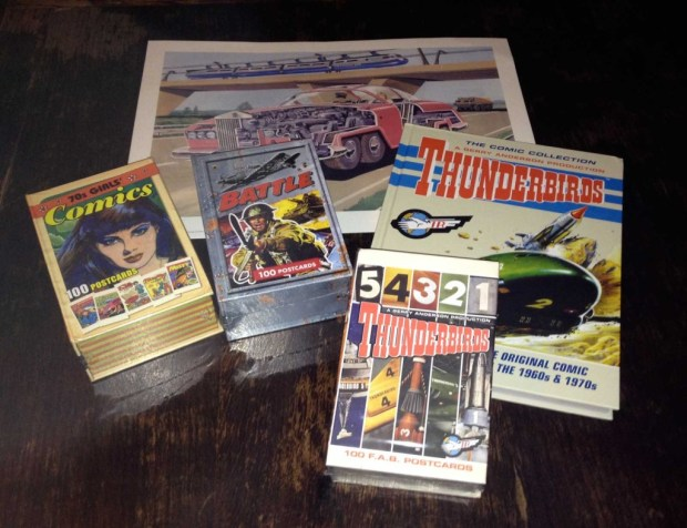 Egnont Postcards and Thunderbirds Releases - October 2013