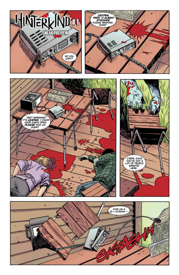Hinterkind Issue 1 Preview Page 1